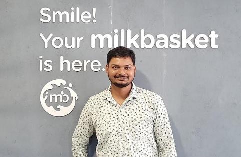 Mr. Nitin Gupta, Head of Engineering at Milkbasket