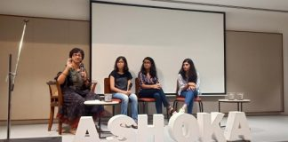 Ms. Shanti Raghavan in conversation with 3 Ashoka Young Changemakers