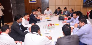 Participants at GST forum 1.0 in Delhi