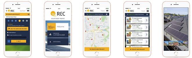 REC SunSnap App