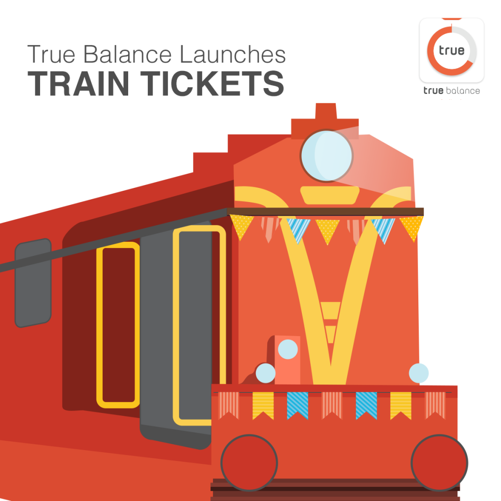 True Balance Partners with IRCTC for Train-Ticket Bookings for India 2 & 3