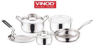 Vinod Cookware Introduces India's First Premium SAS Metal 'Triply Platinum Series'