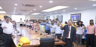 WAPCOS Limited taking the pledge against Hepatitis B & C