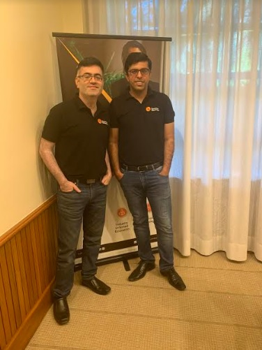 Ashish Munjal, CEO and Piyush Nangru, Co-founder