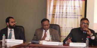 Dr. Ashish Bharadwaj, Professor Sudarshan Ramaswamy and Prof. C. Raj Kumar