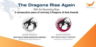 Fourth Consecutive Win for BI WORLDWIDE India at the Dragons of Asia Awards