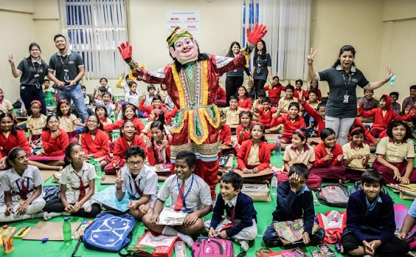 Globsyn Business School Successfully Hosts Kalyani Ananda Utsav 2019 with 600+ Underprivileged Children