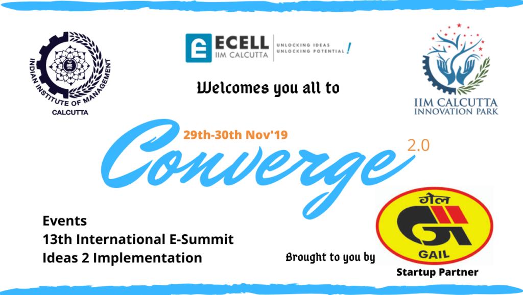 IIM Calcutta to organize the second edition of its entrepreneurship event - 'Converge 2.0'