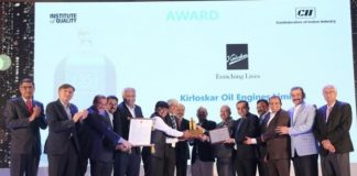 KOEL Awarded CII EXIM Bank Award for Business Excellence 2019