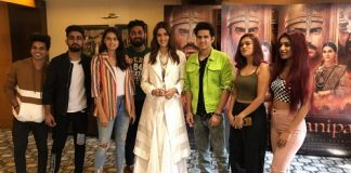 Likee users with star cast of Panipat Film