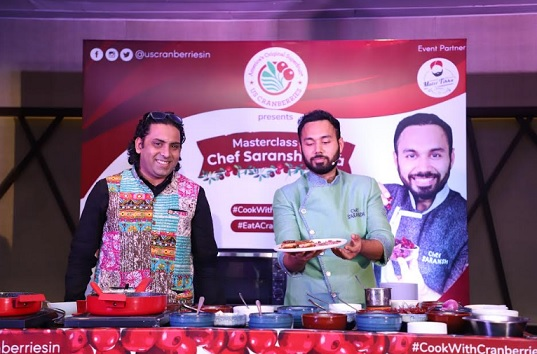 MasterClass with Chef Saransh Goila