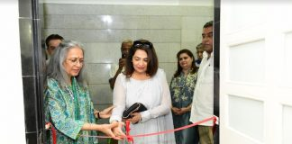 Mrs. Geeta Bijlani, wife of Ramesh Bijlani, Real Estate Developer inaugurated the Ceasefire Foundation facility in Mumbai