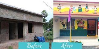 Oakridger Nikhil Transforms an Anganwadi to a Modern-day Pre-school