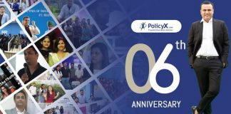 PolicyX.com Celebrates its 6th Anniversary - Reports 50% Growth in Team Size