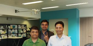 Prasoon Nigam, CTO & Co-founder, Pradeip Agarwal, VP - Marketing & Co-founder, Sameer Nigam, CEO & Co-founders, Stratbeans