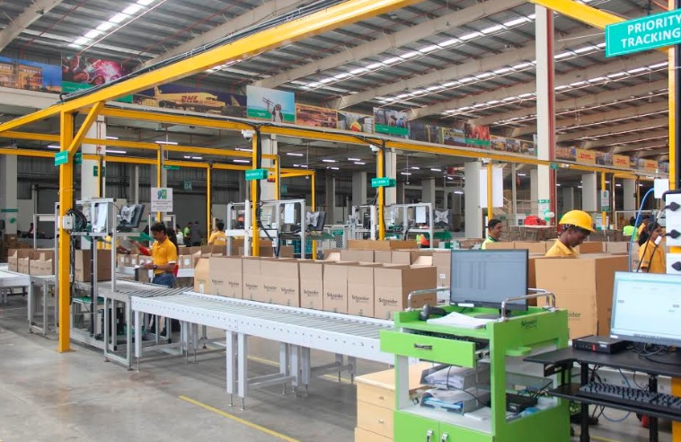 Schneider Electric Opens its First Smart Distribution Center in India