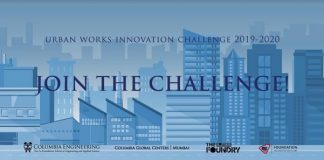Columbia University's Urban Works Innovation Challenge for Startups in India