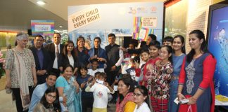 Uttar Pradesh Metro Rail Corporation celebrates World children's week in association with UNICE