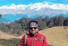 Akash Sharma, Founder and Developer - Hello Uttarakhand Mobile App