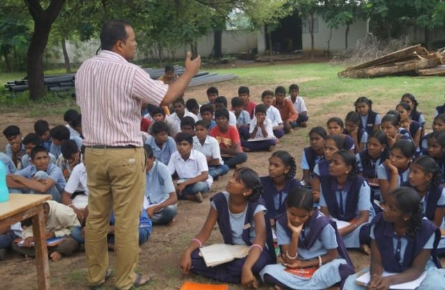 BBG Bangaru Talli Charitable Trust Organized Sessions of Life Skills and Career Guidance