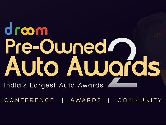 Droom to Host Its Annual Pre-Owned Auto Awards To Recognize Best of Automobile and Services Providers