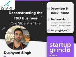Dushyant Singh, Founder of OTH, to Interact With Jaipur Startups and Entrepreneurs on Opportunities and Challenges of the F&B Sector