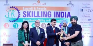 "Frankfinn Received the Gold Award for ""Best Higher Vocational Institute for Skill Development - 2019"""