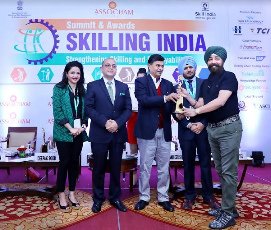 "Frankfinn Received the Gold Award for ""Best Higher Vocational Institute for Skill Development - 2019"""