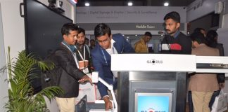 Globus Infocom participated at Indian IFSEC 2019 Expo Mart