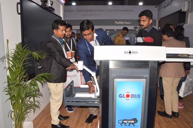 Globus Infocom participated at Indian IFSEC 2019 Expo Mart