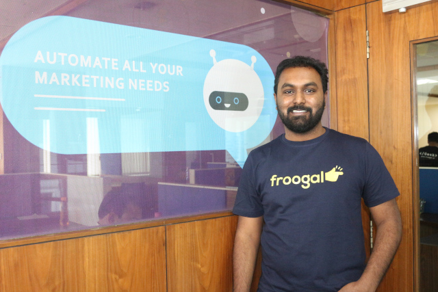 Jeevan Chowdary M - Founder and CEO of Froogal