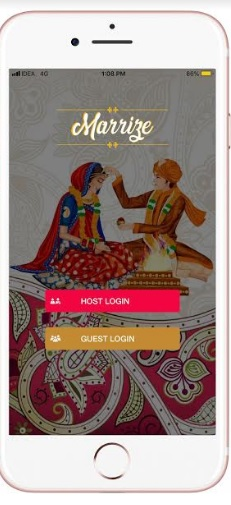 Manage Wedding Digitally with Marrize App