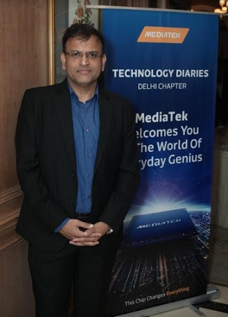 Mr. Anku Jain, Managing Director, MediaTek India