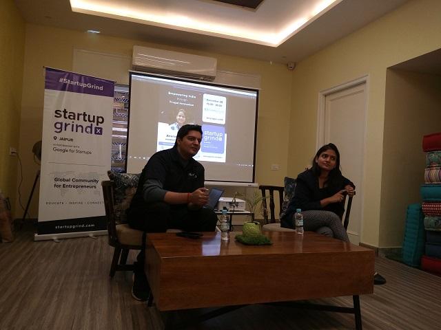 MultiBhashi's Anuradha Agarwal entralls Startup Grind Jaipur community with her frugal strategies