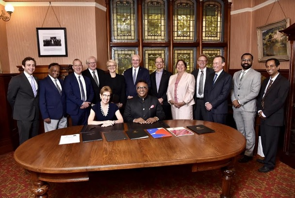 O.P. Jindal Global University Signs Agreements with Seven Top Australian Universities