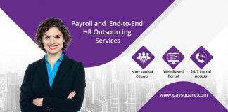 Paysquare offers dedicated payroll outsourcing support on ERP platforms