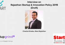 Rajasthan Startup & Innovation Policy 2019 Draft - iStart