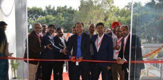 Sumit Mukhija, CEO, STT GDC India inaugurating STT Bengaluru DC-3