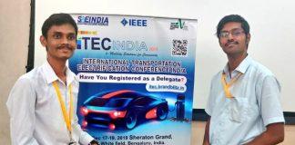 Team Praxians - iTEC India Hackathon 2019 Winners.