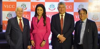 Dr. Ramesh Kumar Datta, Honorary Finance Secretary, IMA Vandana Luthra, Founder & Co-Chairperson, VLCC, Jayant Khosla, Managing Director & Group Head, VLCC, Dr. SK Poddar, Hony. Assistant Secretary, IMA