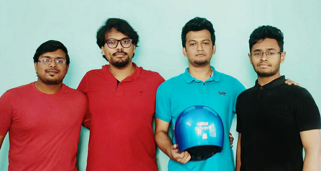 Altor smart helmets are designed to prevent road accidents