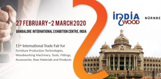Biggest Wood Industry Show - INDIAWOOD 2020