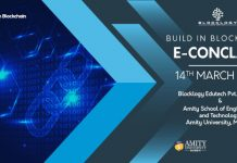 Blocklogy Edutech to organise Build In Blockchain e-Conclave 2020 in association with Amity University Mumbai