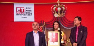 Divanshi Gupta Awarded ET Now Young Business Woman Entrepreneur Award 2020