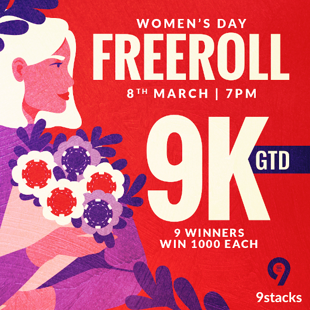 9Stacks, India's fastest growing online poker platform to organise Women's Day Tournament