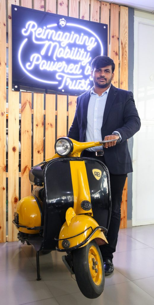 Abhishek Chandrashekar, CEO & Co-Founder, Royal Brothers