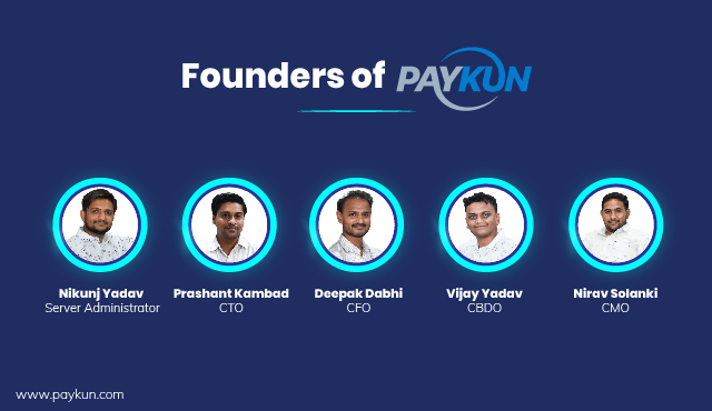 Founders of PayKun Payment Gateway Solutions