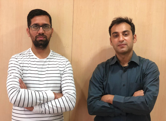 L to R - Rohit Birla and Vaibhav Puri - Founders of BookKeeper