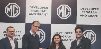 MG shortlists Driftly Electric for enabling EV start-up ecosystem under its Developer Program & Grant..