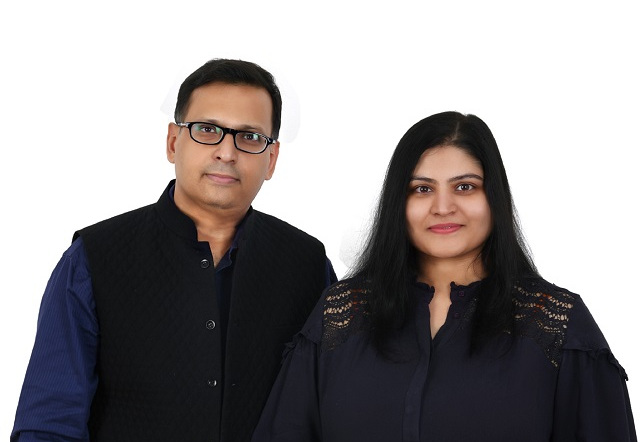 Mr. Sachin Kukrejah with Ms. Nisha Kukrejah, Co-Founder & Founder, Luxaire